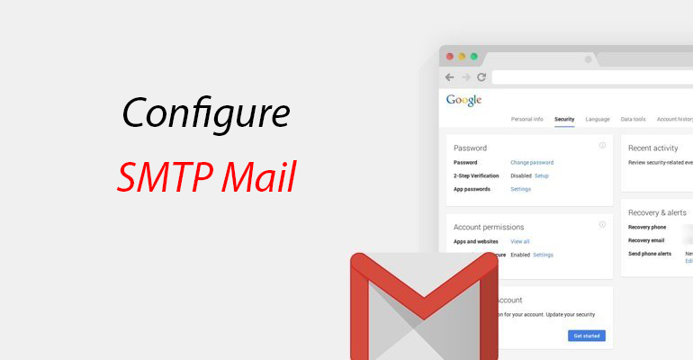 wordpress how to configure to send email